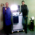 Q6 COLOMBUS İS DELİVERED TO TEKNIK METALURJI AND TRAINING IS GIVEN.