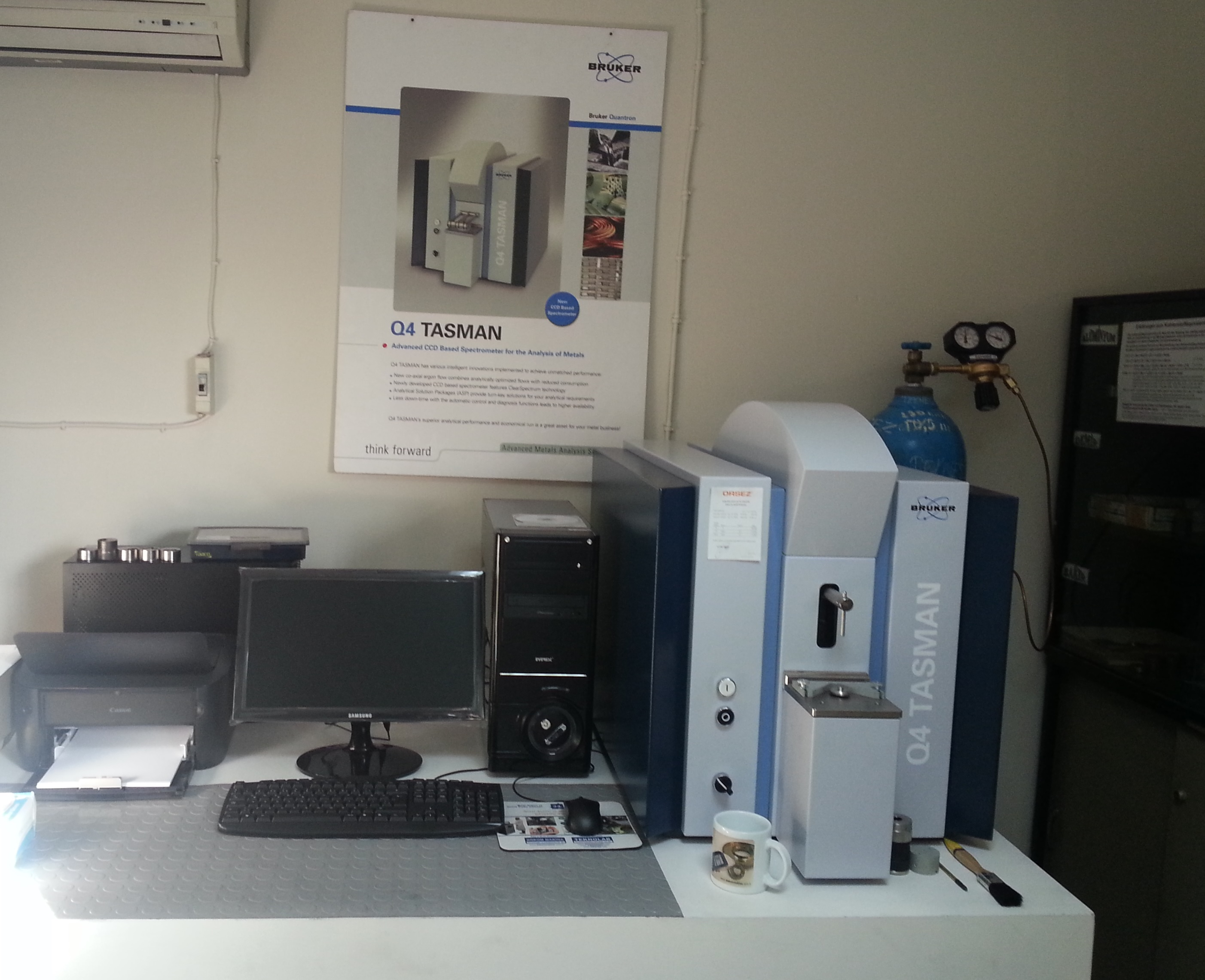 Manisa Celal Bayar University has decided to buy Spectrometer which has Fe, Al, Cu, Ni, Zn, Pb, Mg.