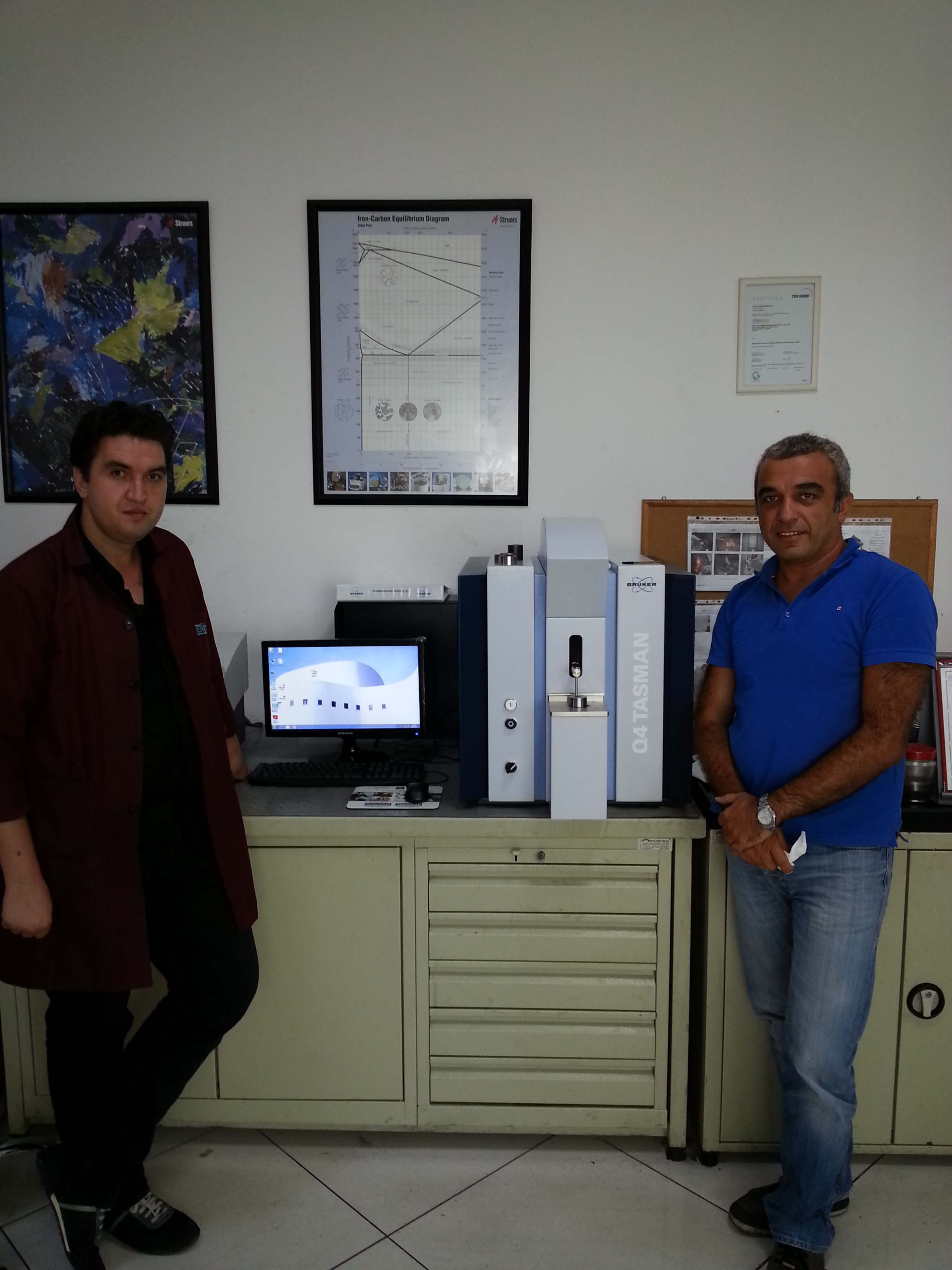 Q4 TASMAN 170 installation is completed in TEKNOFORM GmbH in Istanbul